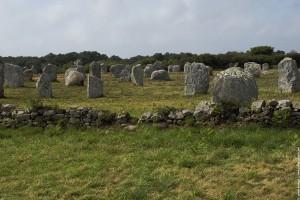 Les alignements megalithiques de Carnac