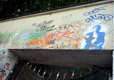 La maison de Serge Gainsbourg à Paris
