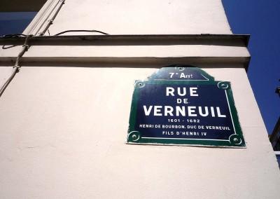 La maison de Gainsbourg 5 bis rue de Verneuil 75007 Paris