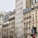 L'immeuble de l'appartement de Claude François vu de côté