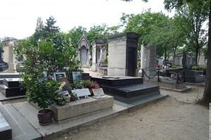 La tombe de Serge Gainsbourg