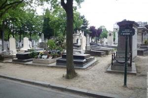 Tombe de Serge Gainsbourg
