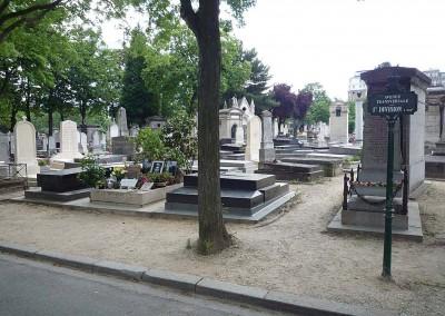 Serge Gainsbourg au cimetiere du Montparnasse