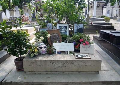 Gainsbourg - Cimetiere du Montparnasse