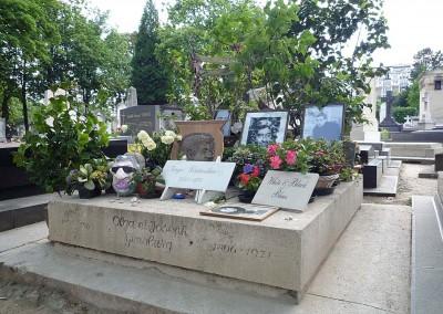 Gainsbourg au cimetiere du Montparnasse 75014 Paris