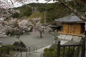 Une des nombreuses salles du Temple Kiyomisu de Kyoto