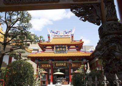 Un temple boudhiste chinois