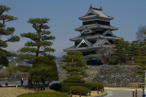 Chemin vers la Forterresse Samouraï de Matsumoto