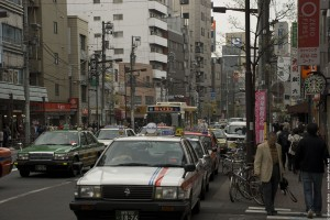 Une rue de Tokyo