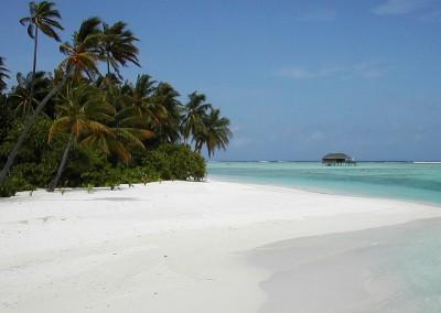 Villa sur pilotis - Honeymoon villa depuis la plage