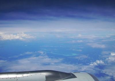 Arrivee aux Maldives