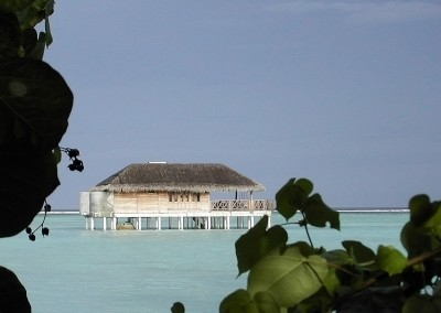 Villa sur pilotis - Vue sur une honeymoon water villa