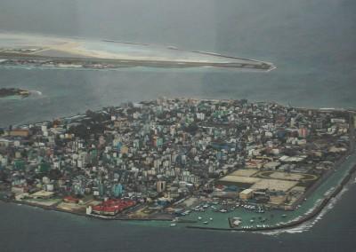 La capitale des Maldives