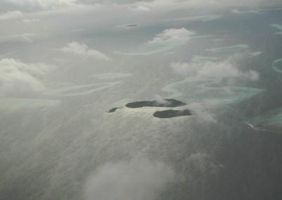 Les atolls des Maldives