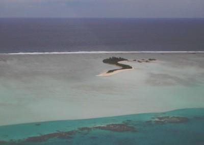 Les atolls des Maldives vus d avion