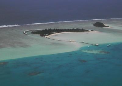 Les iles hotel des Maldives