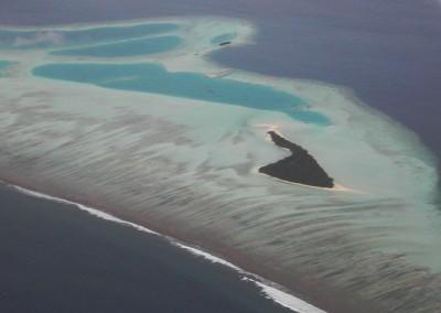 Les iles des Maldives