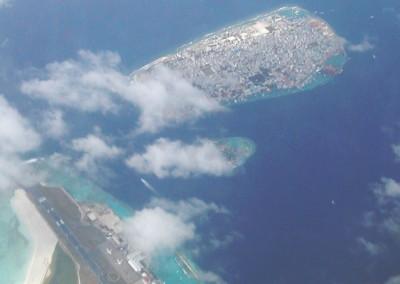 Les pistes d Hulhule aux Maldives