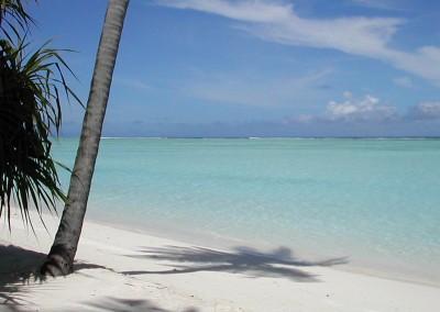 Plage des Maldives