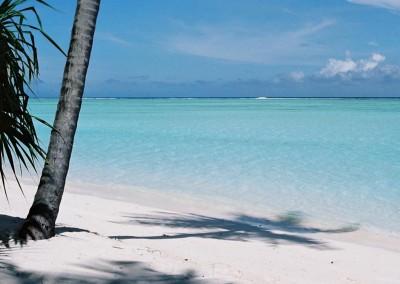 Maldives la plage