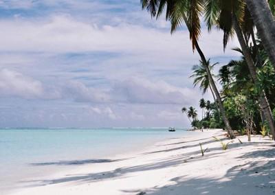 Sable et ocean aux Maldives