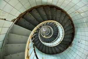 Escalier du phare de la Coubre