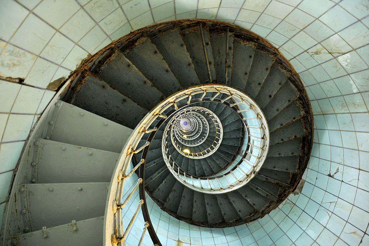 L'escalier du phare de La Coubre - 300 marches