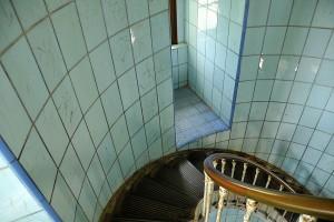 rampe d'escalier phare de La Coubre