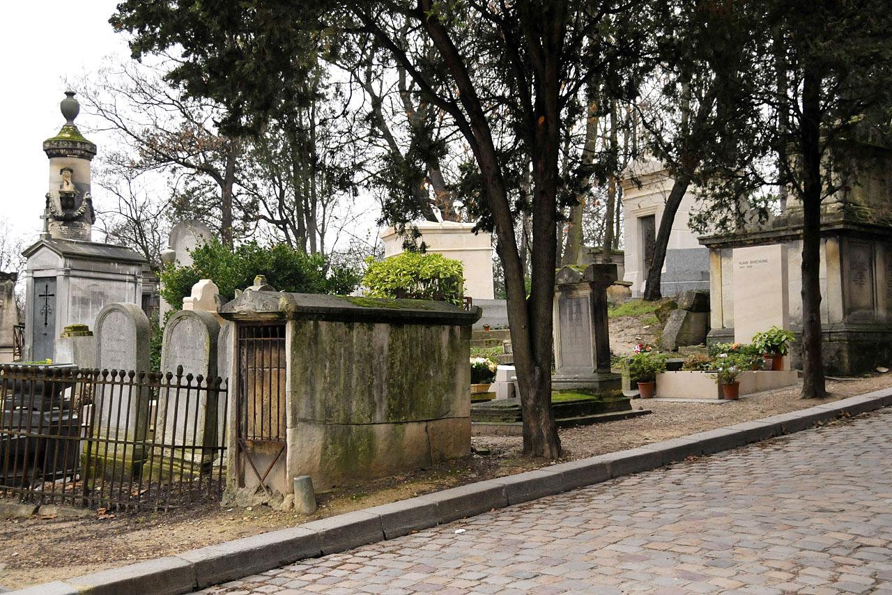 La tombe d'Alain Bashung 13e division