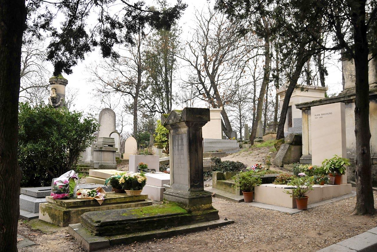 La tombe d'Alain Bashung