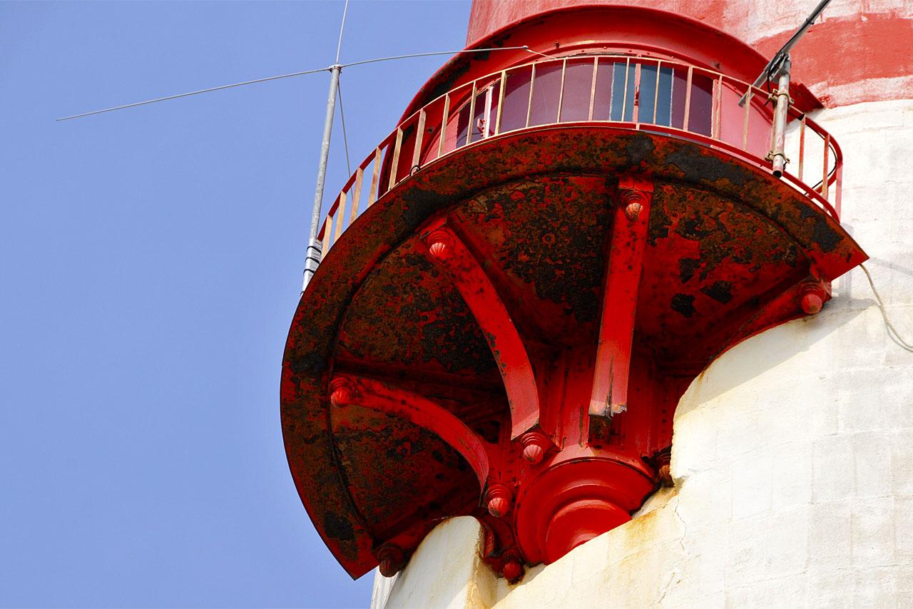 La lanterne du phare de La Coubre