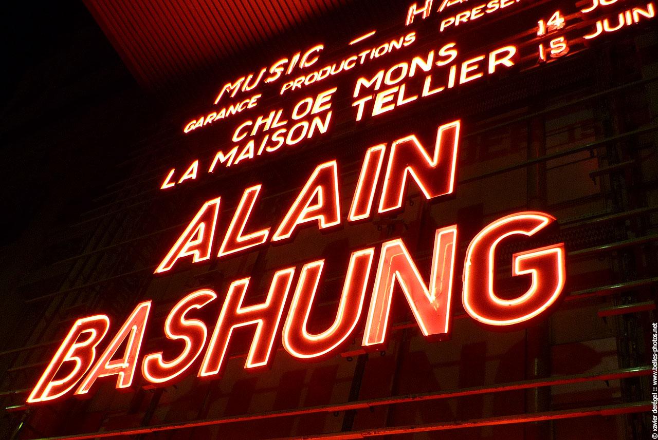 Alain Bashung en concert a l Olympia le 15 juin 2008