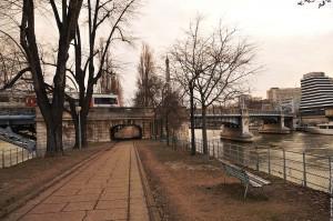 allee des cygnes et le pont Rouelle