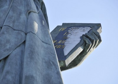 La statue de la liberte de Paris