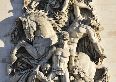 La Resistance de 1814 d'Antoine Etex