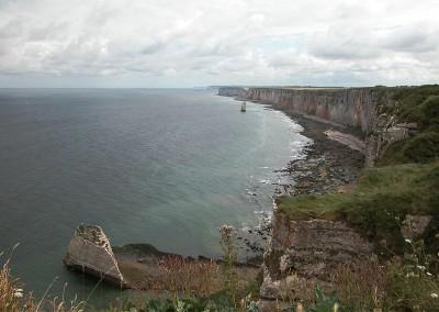 Le roc Vaudieu et l'aiguille de Belval