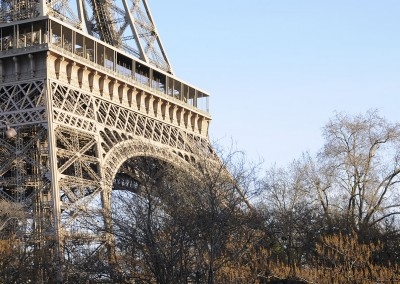 La tour Eiffel le matin