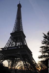 Réveil de la ta tour Eiffel
