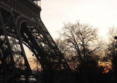 La tour Eiffel - Matin