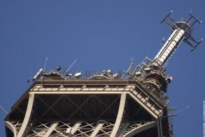 Sommet de la tour Eiffel