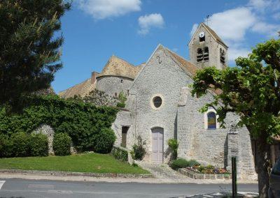 L'église de Dannemois (Claude François)