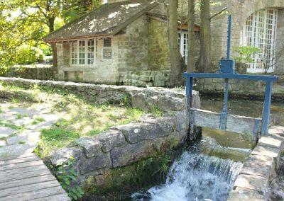 Chute d'eau du moulin de Dannemois