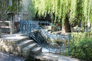 L'escalier du moulin de Claude François