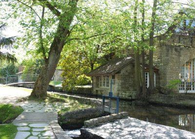 Le parc du moulin de Claude François