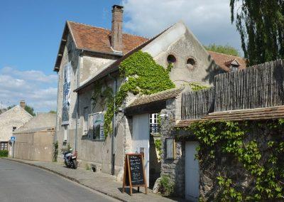 La rue du moulin de Claude François