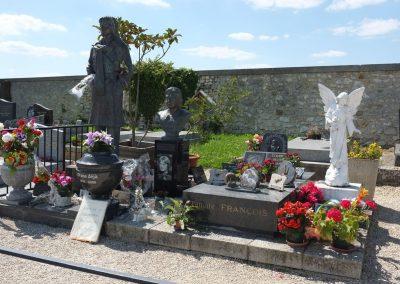 La tombe de Claude François