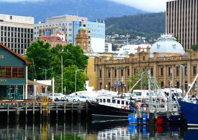Le port d'Hobart