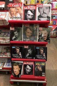 Johnny Hallyday a fait la une de tous les magazines