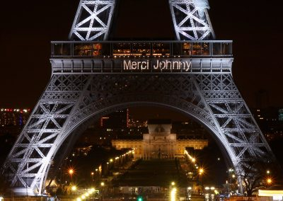 Merci Johnny (Tour Eiffel)