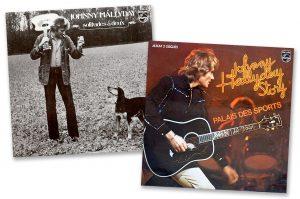 Pochettes de vinyles de Johnny Hallyday